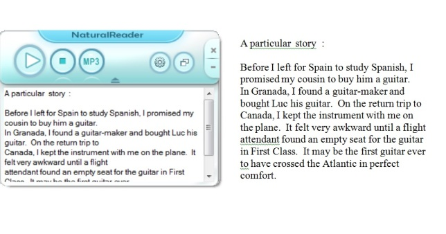 Reading Using the Speech Synthesizer | Aphasia R L